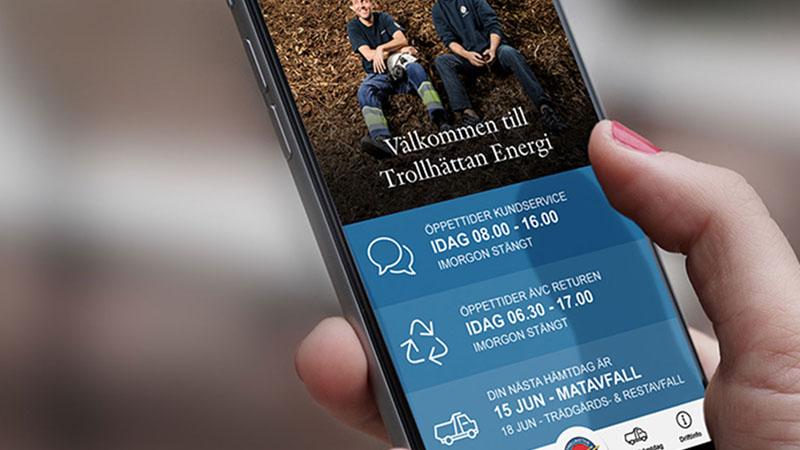 Trollhättan Energi App